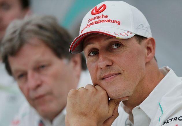 Michael Schumachersuffered a
