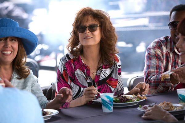 """Inthe Aprilcomedy """"The Meddler,"""" Susan Sarandon plays a widow who moves to Los Angeles to integrate herself in th"""