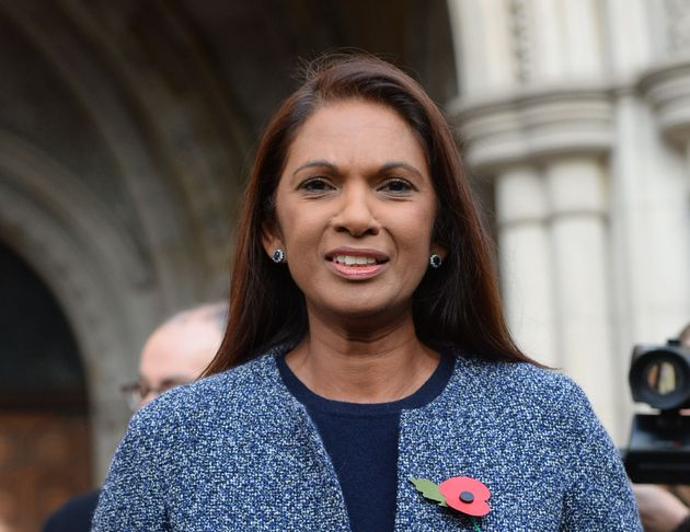 Gina Miller speaks to the media at the High Court in London on