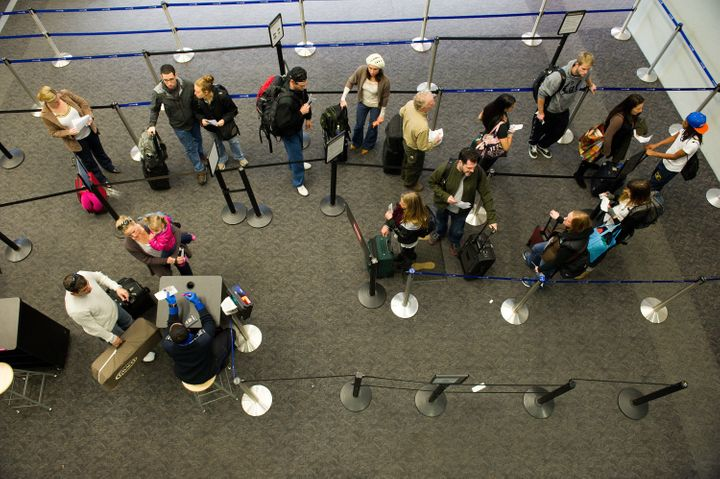 Travelers typically have a fairly easy waitin security lines at San Francisco Airport.