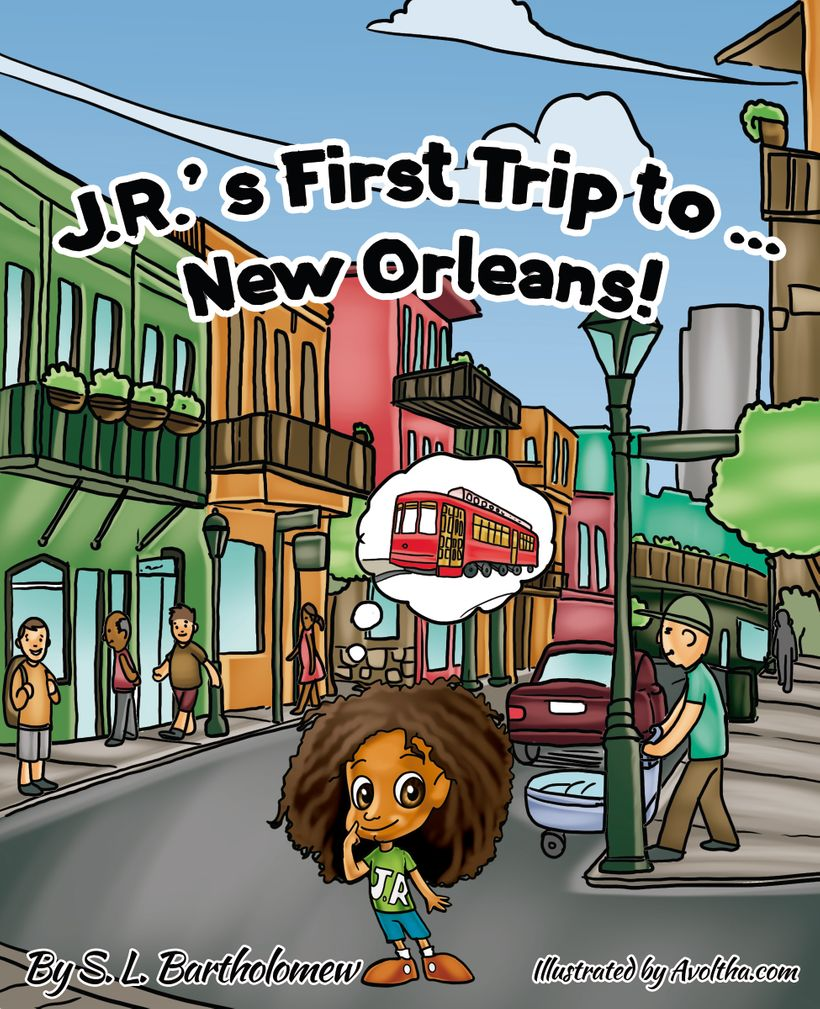 J.R.'s First Trip to... New Orleans