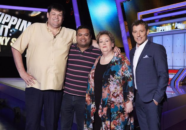 The Chasers with host Ben