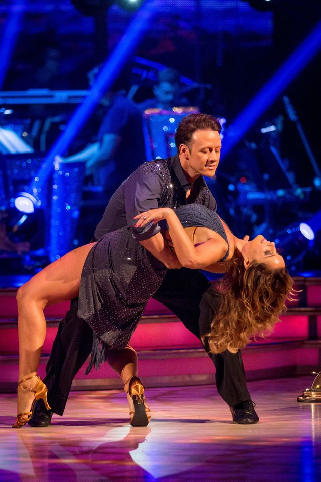 Kevin Clifton and Louise