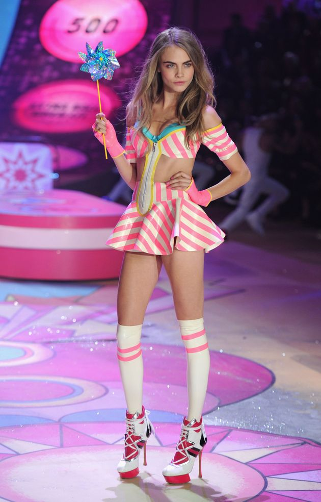 Cara Delevingne Denies Claim She Was Too 'Bloated' To Walk In Victoria's Secret