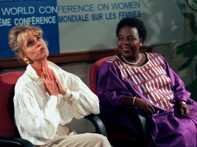 Gender was a hot topic at the UN's fourth world conference on Women held in Beijing in 1995, and attended by politician