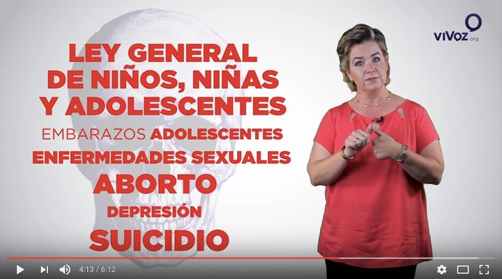 This YouTube video used in Mexico warns parents about the dangers of gender ideology.