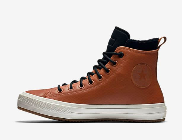 """Chuck II Waterproof Mesh Backed Leather (unisex), $120 at <a href=""""http://store.nike.com/us/en_us/pd/converse-chuck-ii-waterproof-mesh-backed-leather-unisex-boot/pid-11587716/pgid-11634705"""" target=""""_blank"""">Nike</a>"""