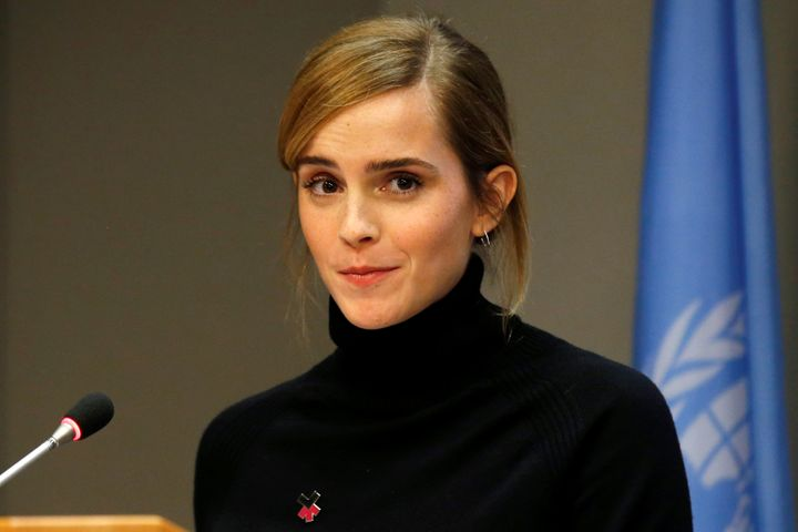 "U.N. Women&rsquo;s Goodwill Ambassador Emma Watson launches <a href=""http://www.unwomen.org/en/news/stories/2015/01/emma-wats"