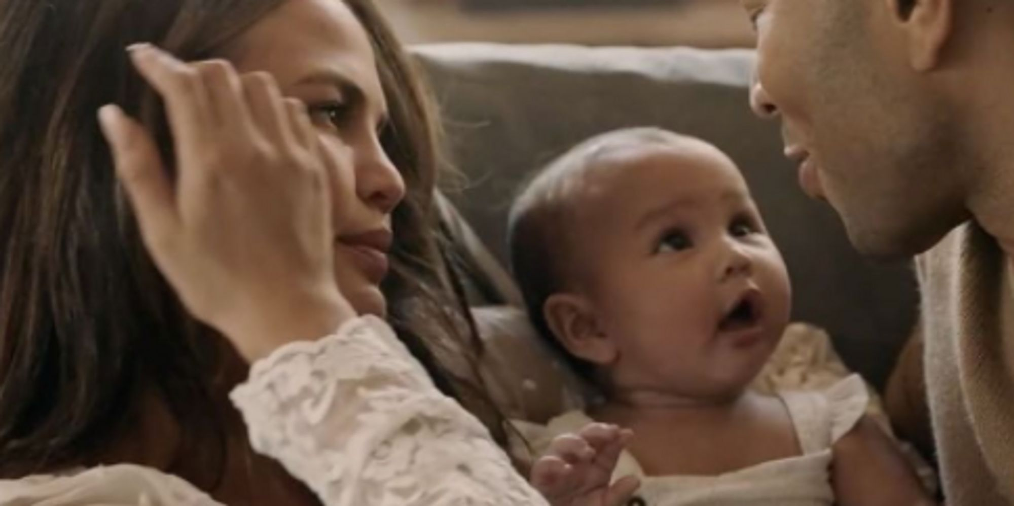 Luna Steals The Show From Chrissy Teigen And John Legend In Her Dad's Music Video | Huffington Post