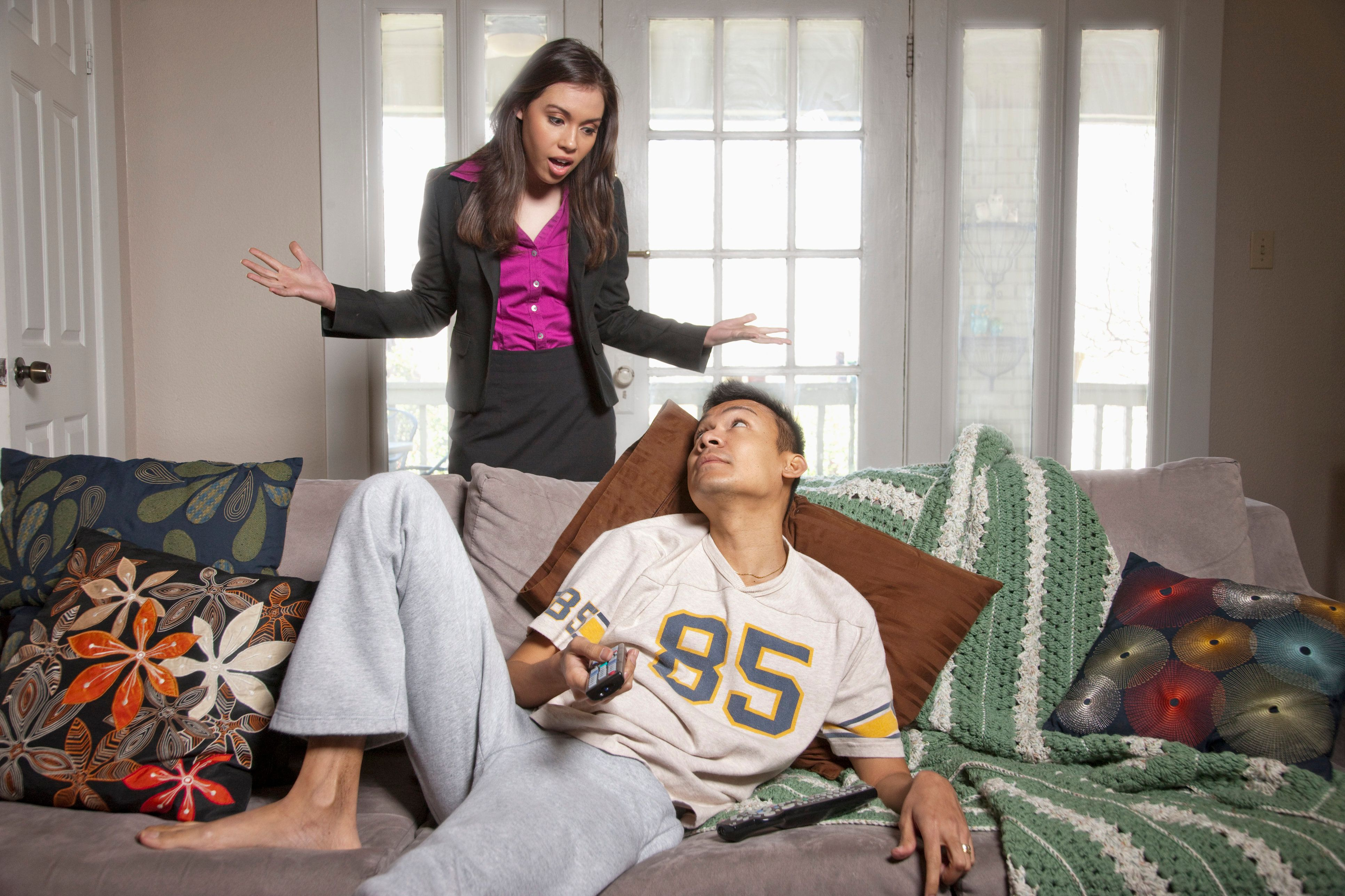 Husband odd sex behavior