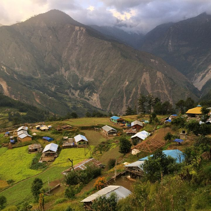 <p>Phulping Katti. 18 months after the April 2015 earthquake devastated the village. Homes and schools are finally being rebuilt. </p>