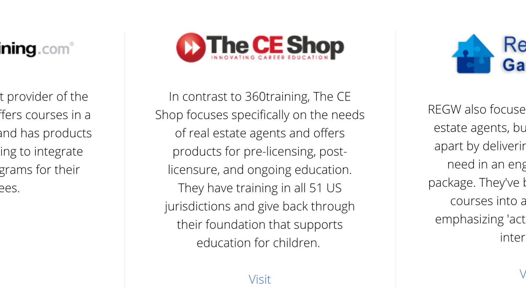 Review: Which Real Estate Continuing Education Provider Is