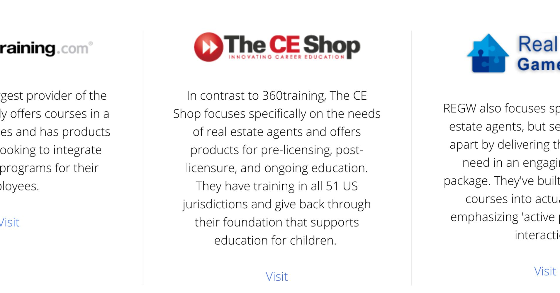 Review: Which Real Estate Continuing Education Provider Is Best in ...