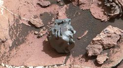 'Egg Rock' Meteorite Discovered On Mars By Curiosity