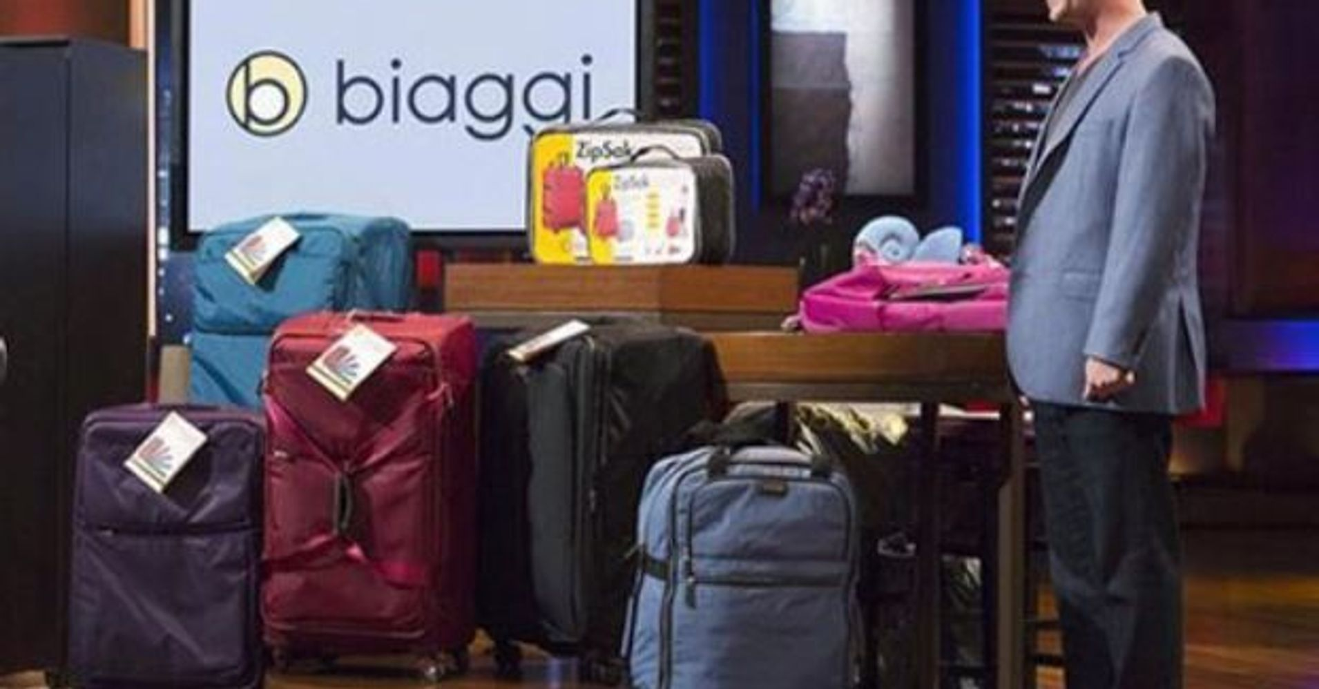 Shark Tank Biaggi Entrepreneur Stephen Hersh Bags Beyond The Huffpost