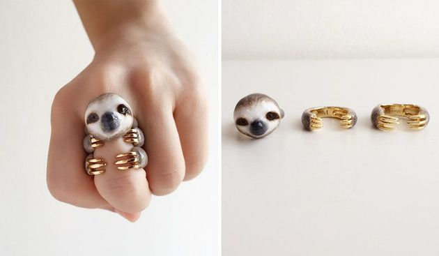 3 Piece Rings Let You Hang With Your Favorite Animal All Day Long