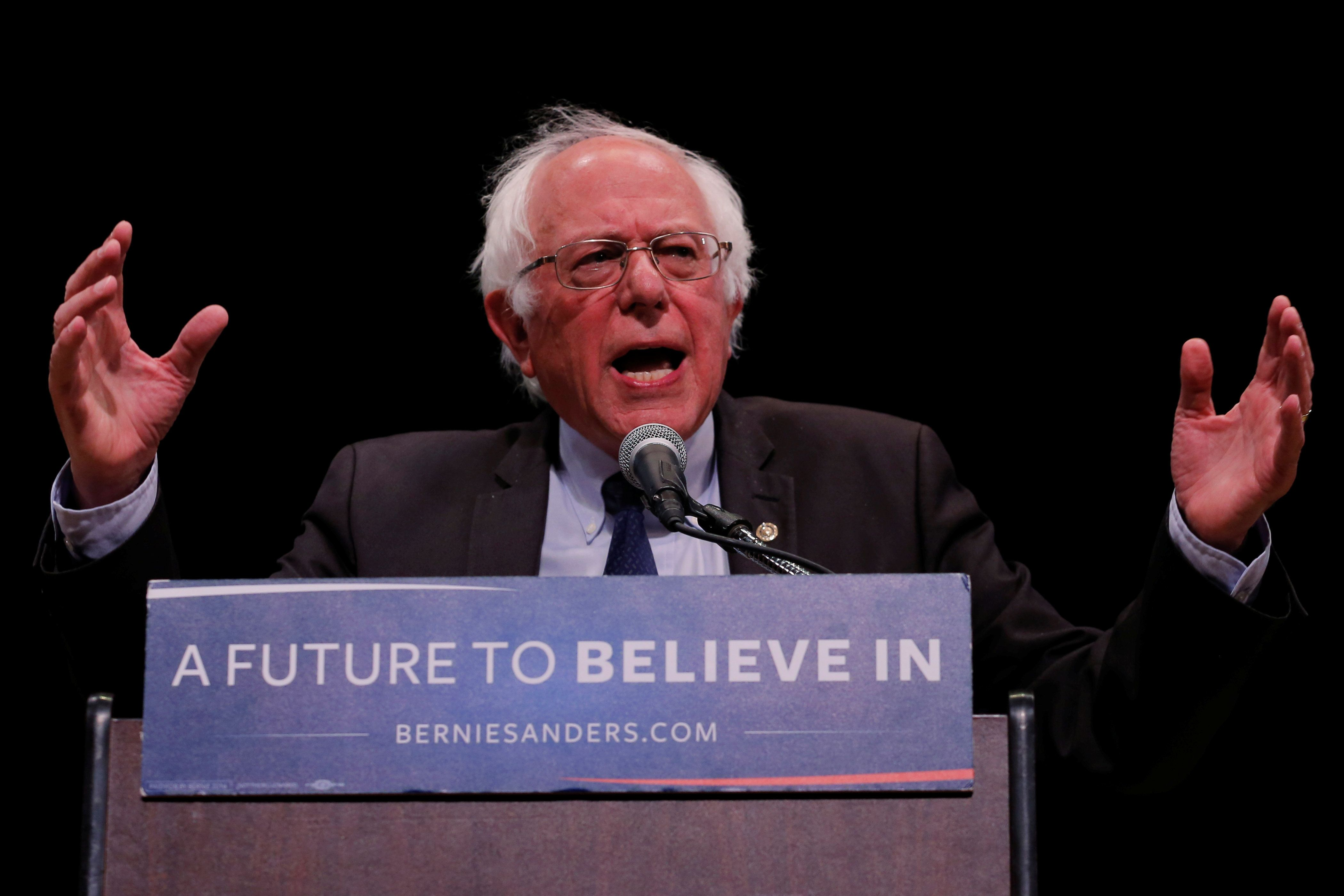 Sen. Bernie Sanders' support wasn't enough to win over Colorado voters.