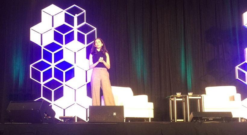 @missmeiks presenting at Net Impact #NI16