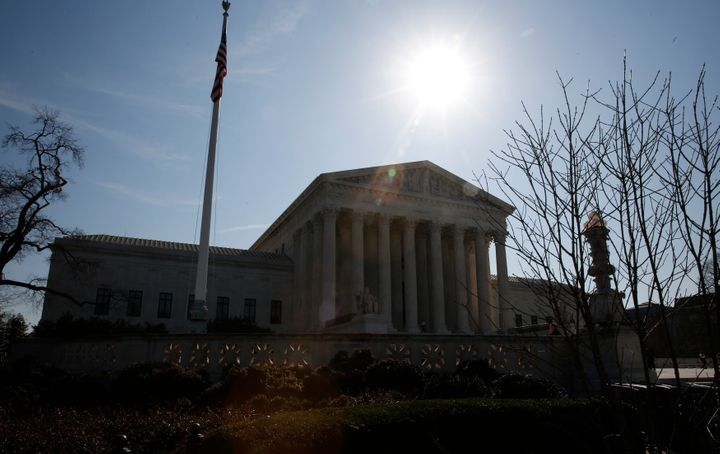 The U.S. Supreme Court building is seen in Washington, March 16, 2016.
