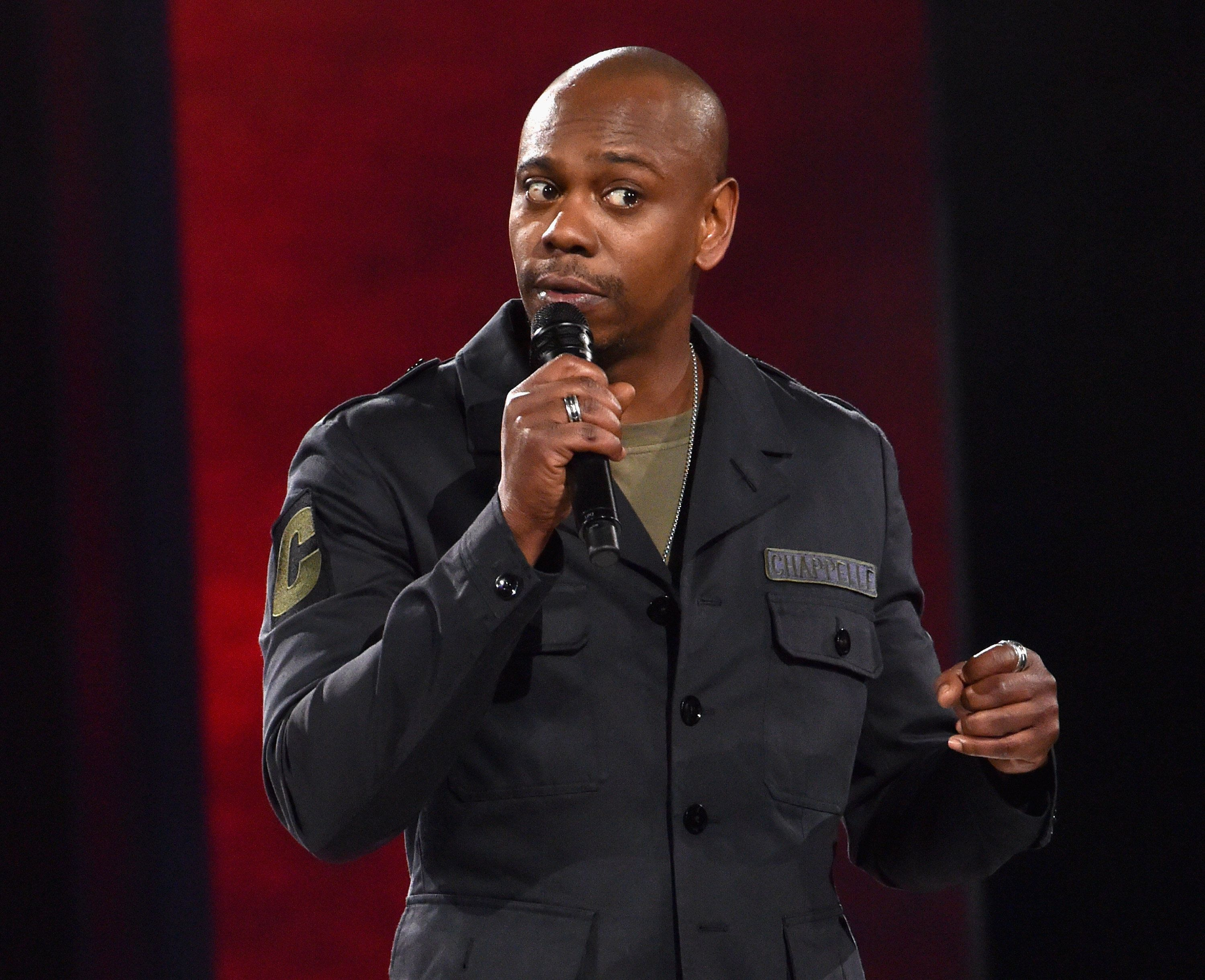 Dave Chappelle performs at a sold-out show in