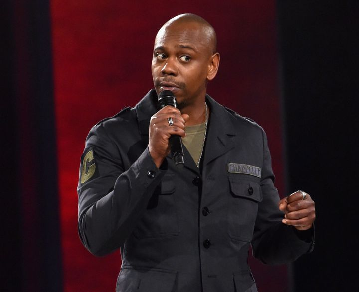 Dave Chappelle performs at a sold-out show in March.