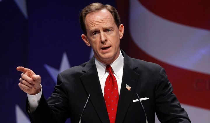 Sen. Pat Toomey (R-Pa.) is in a tough reelection race against Democrat Katie McGinty.
