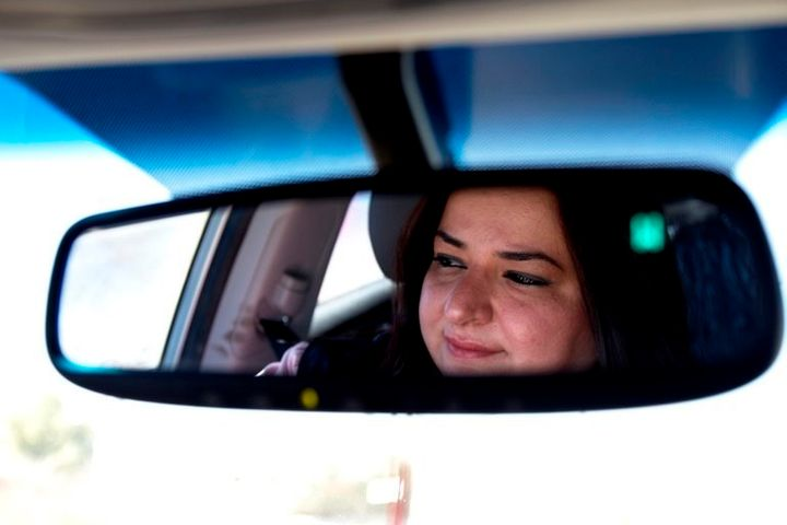 Hiba al-Sharu has defied Jordan's patriarchal society to become one of the country's first female taxi drivers.