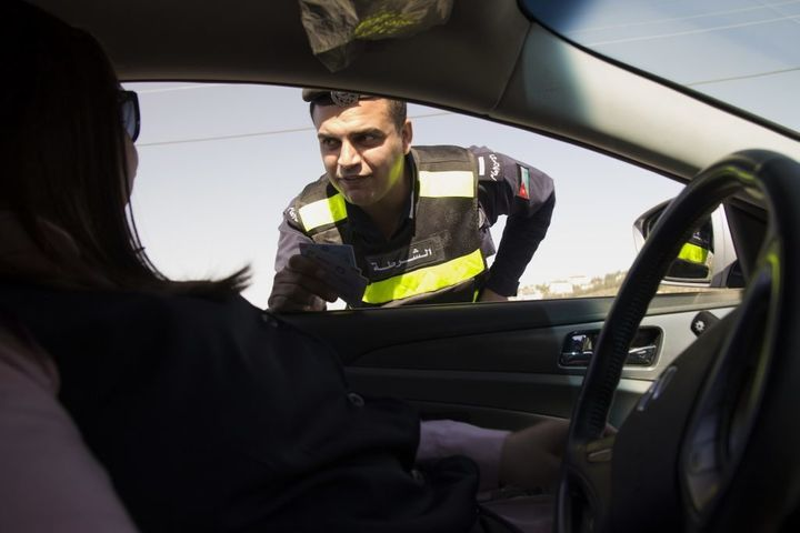 Jordan's women taxi drivers are being hailed as pioneers in a country where working odd hours and being in cars alone w