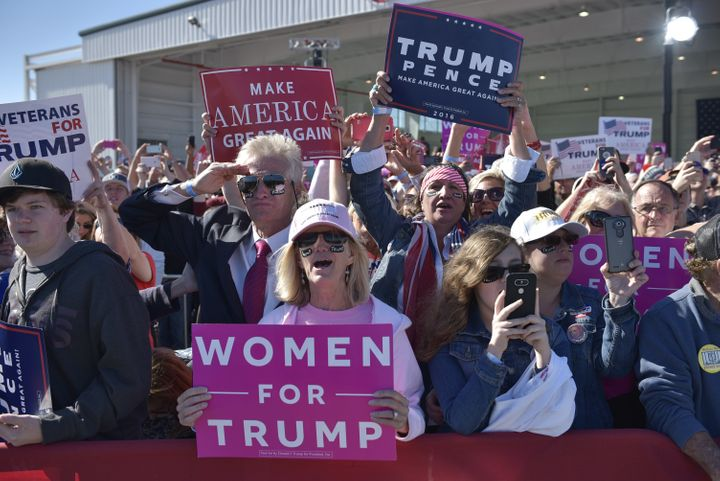 Donald Trump supporters aren't likely to change their minds about their candidate this late in the game. And neither are Hill