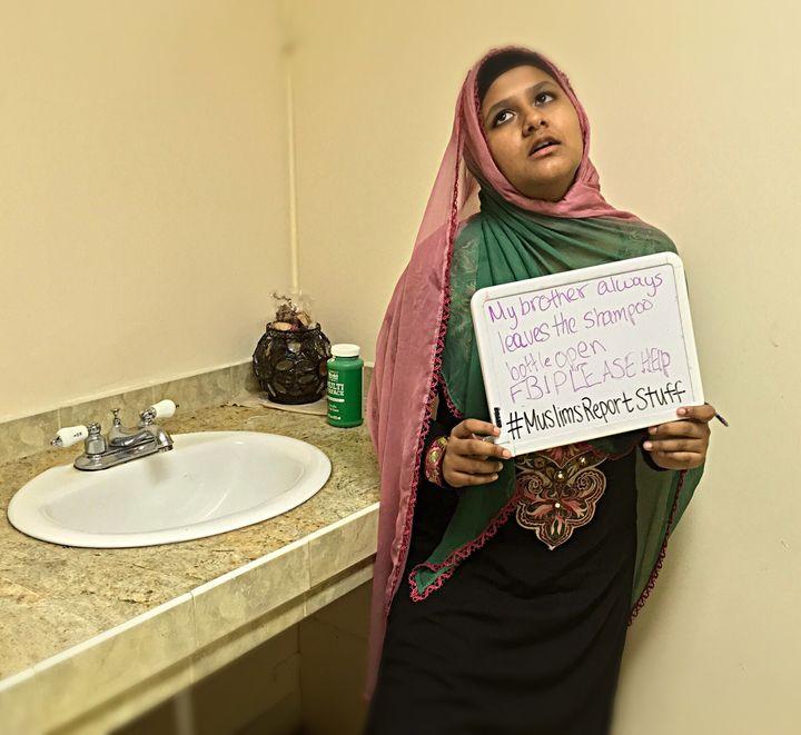 """My brother always leaves the shampoo bottle open. FBI please help. #MuslimsReportStuff"""