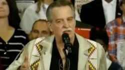Speaker At Donald Trump Rally Jokes About Hillary Clinton Being A