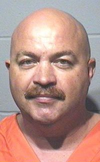 Mugshot of Torah Bontrager's Uncle, Enos Bontrager, a blatant alleged sexual predator who finally -- more than 20 years after