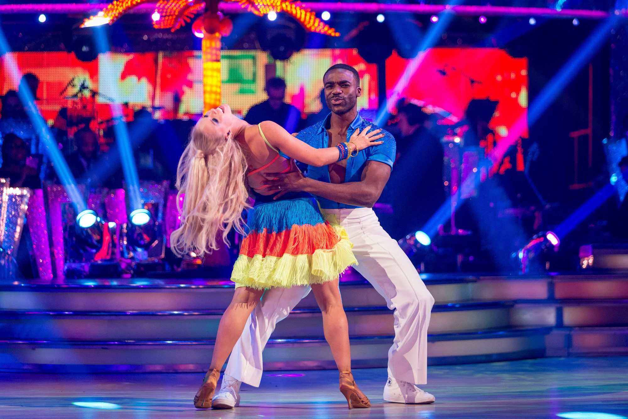 Ore Oduba Gets Back On Track In 'Strictly Come Dancing', As Louise Redknapp Bags Near-Perfect