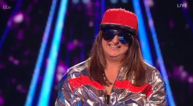 Honey G was positively beaming as she got her