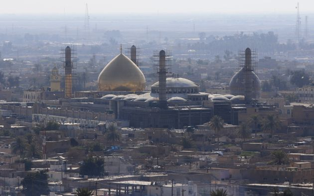 A general view of Samarra, February 3, 2016. Picture taken February 3,