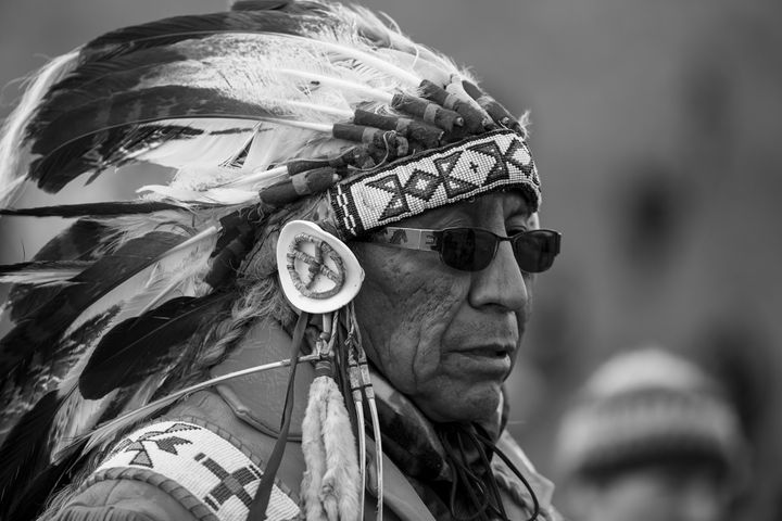 Chief, Arvol Looking Horse, Keeper of the Sacred C'aunupa Bundle of the Lakota/Dakota Nation.
