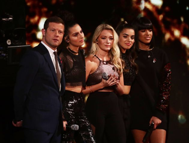 The girlband were brought back to the competition after Brooks Way were