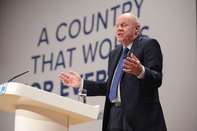 Work and Pensions Secretary Damian Green said by lowering the benefit 'we are ensuring the values of...
