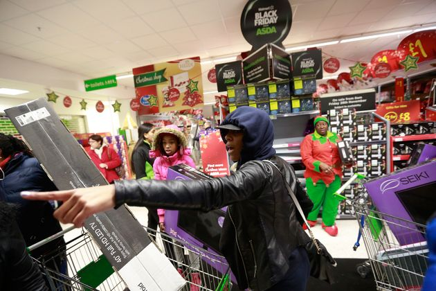 Walmart's Asda brought the US-shopping phenomenon to the