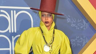 LAS VEGAS, NV - NOVEMBER 06:  Host Erykah Badu attends the 2016 Soul Train Music Awards at the Orleans Arena on November 6, 2016 in Las Vegas, Nevada.  (Photo by Mindy Small/FilmMagic)