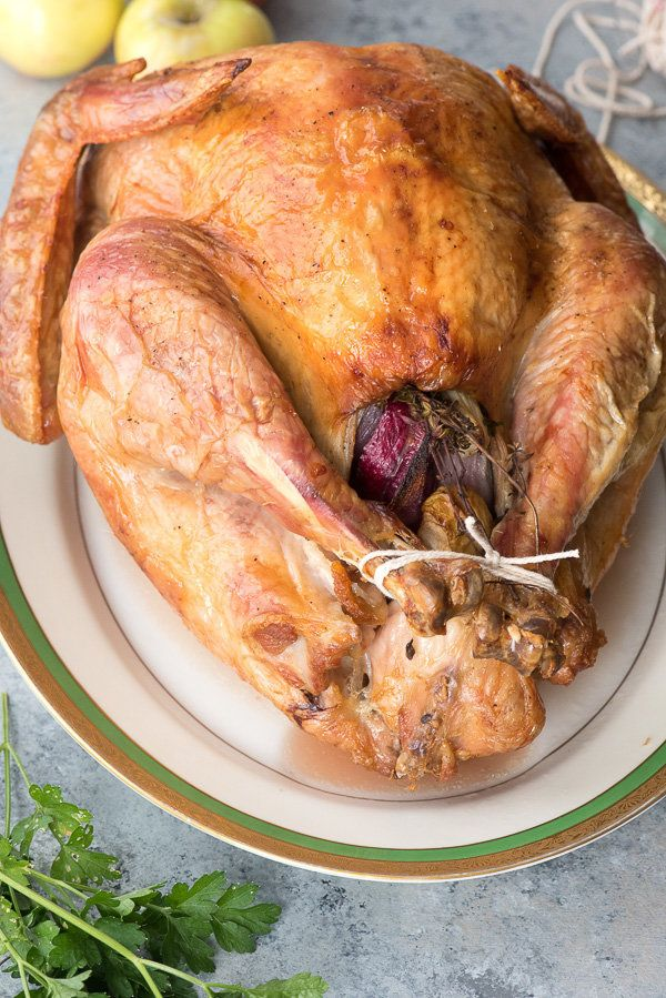 "<strong>Get the <a href=""http://boulderlocavore.com/easy-roast-turkey/"" target=""_blank"">Easy Roast Turkey recipe</a> fro"