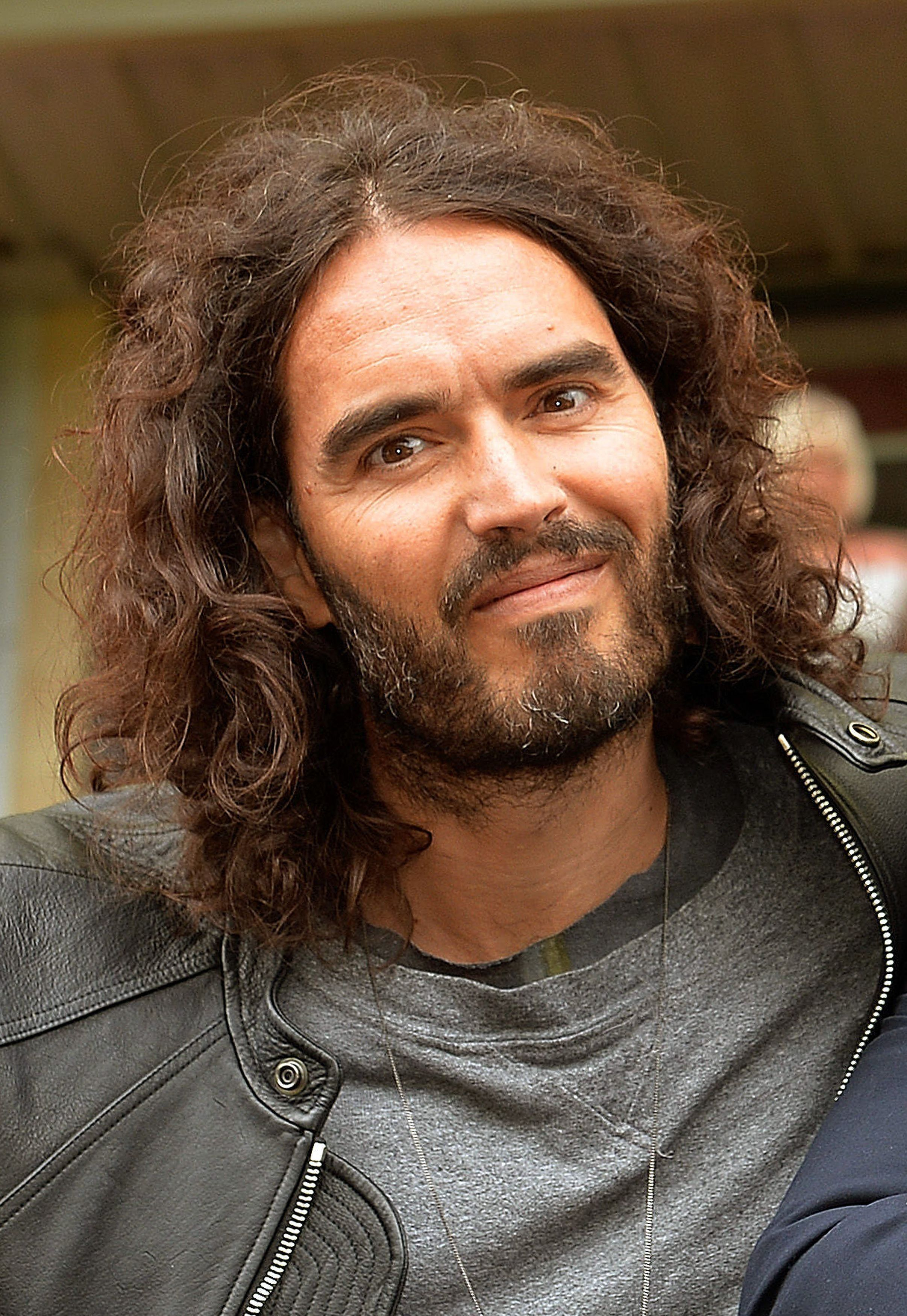 Russell Brand 'Announced Birth Of Baby' During Stand-Up Gig