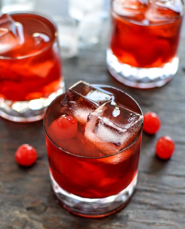 "<strong>Get the <a href=""http://www.howsweeteats.com/2012/12/cherry-whiskey-smash-cocktails/"" target=""_blank"">Cherry Whiskey"