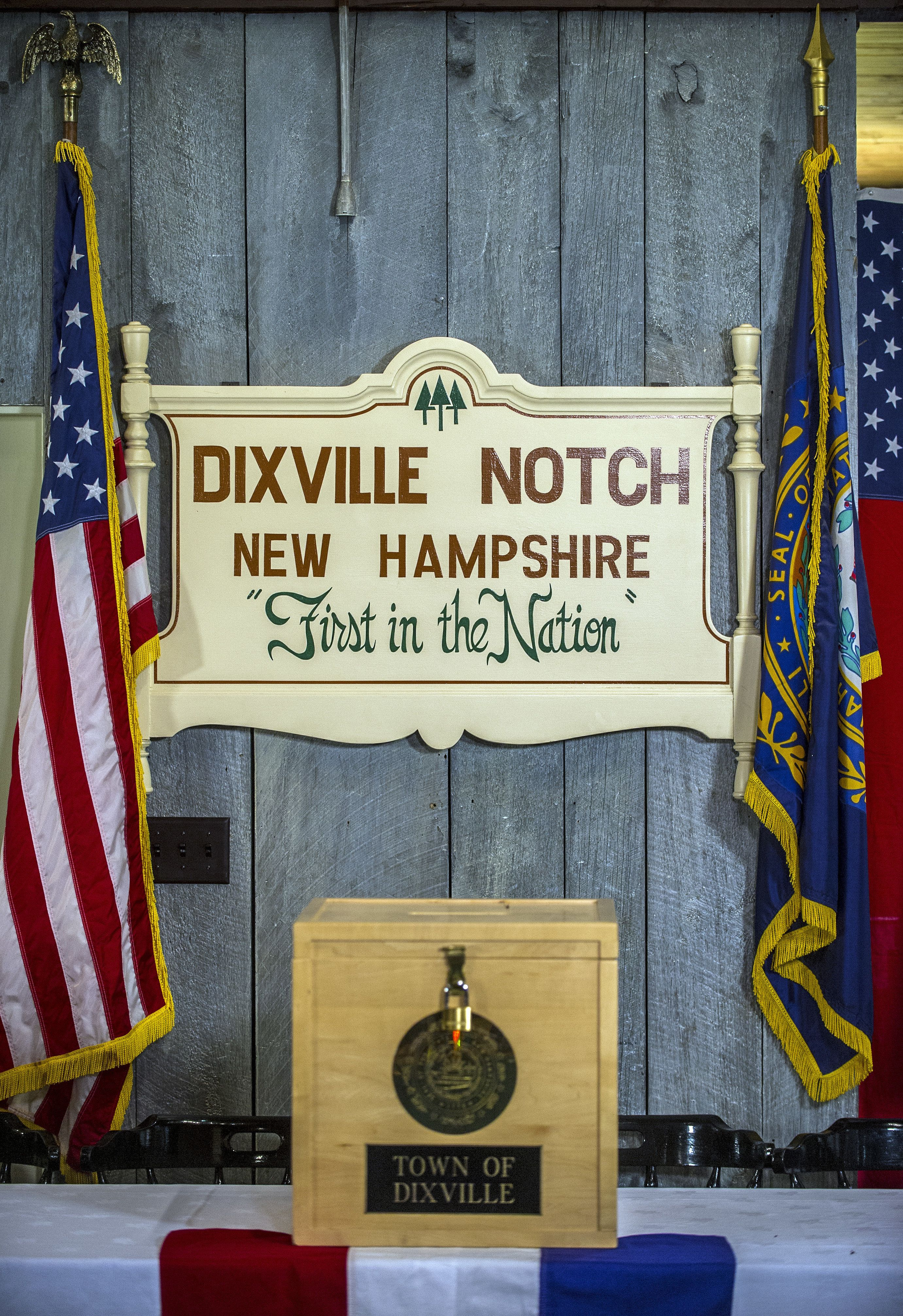 Quirky New Hampshire Precincts Bring In The First Votes Of The U.S.