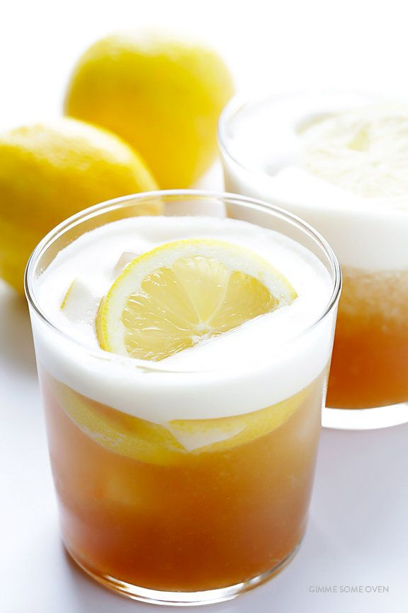 "<strong>Get the <a href=""http://www.gimmesomeoven.com/maple-whiskey-sour-recipe/"" target=""_blank"">Maple Whiskey Sour recipe</"
