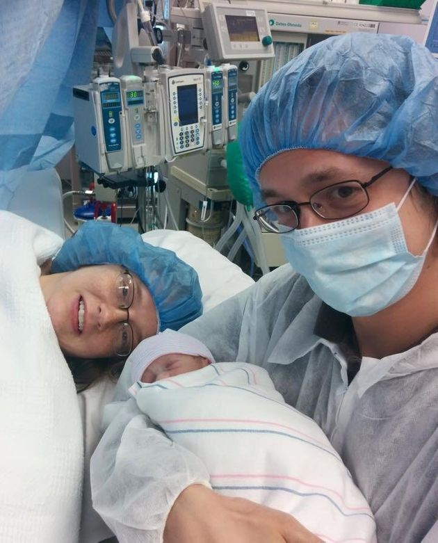 What it is Like to Have a C-Section at 31 Weeks - Prematurity
