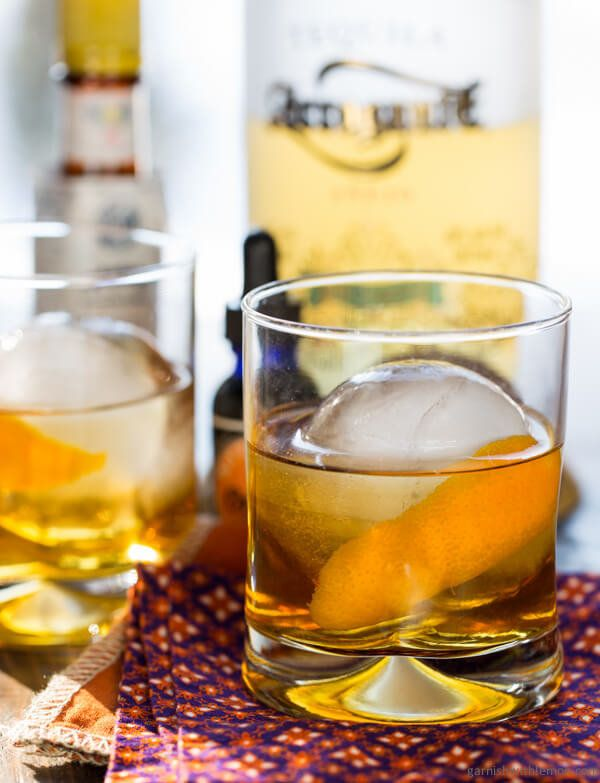 "<strong>Get the <a href=""http://www.garnishwithlemon.com/tequila-old-fashioned/"" target=""_blank"">Tequila Old Fashioned recipe"