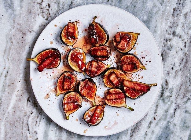 "<p>It's impossible to only eat one of these <a href=""http://www.bonappetit.com/recipe/figs-with-bacon-and-chile?mbid=synd_huffpotaste"" target=""_blank"">Figs with Bacon and Chile</a>. </p>"