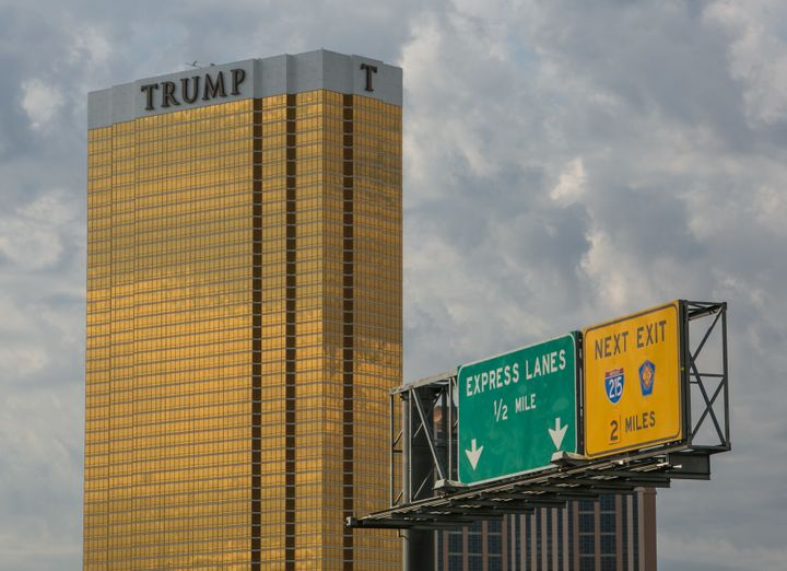 The Trump International Hotel & Tower Las Vegas -- one of the six U.S.-based Trump hotels to offer on-demand adult f
