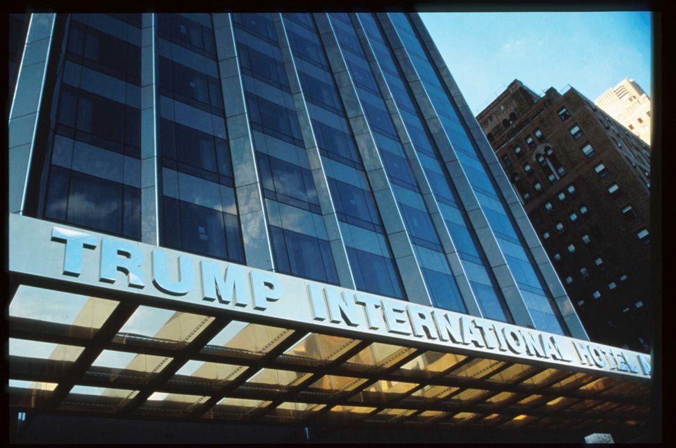 The Trump International Hotel & Tower circa 1996.